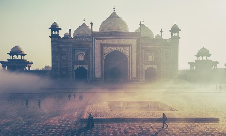 Taj Mahal architectuur fotograferen