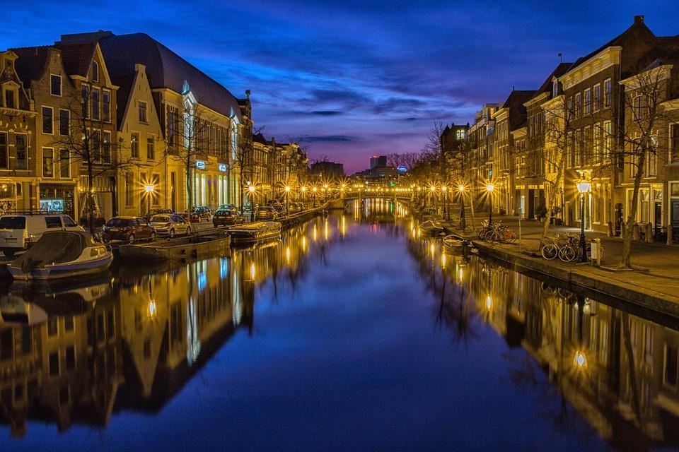 Nachtfotografie blauw uur