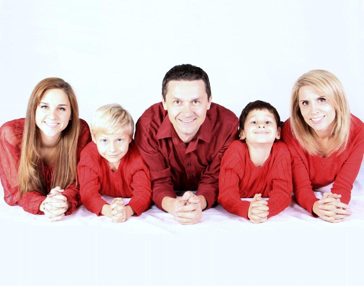 Hoe familieportretten te fotograferen
