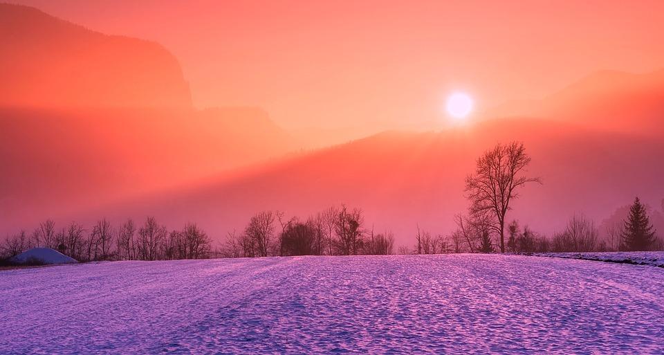 winter fotografie