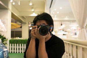 Camera vasthouden