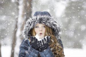 Fotograferen tijdens het sneeuwen