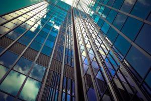 Architectuurfotografie reflectie