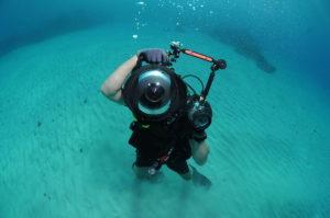 Behuizing onderwater fotografie
