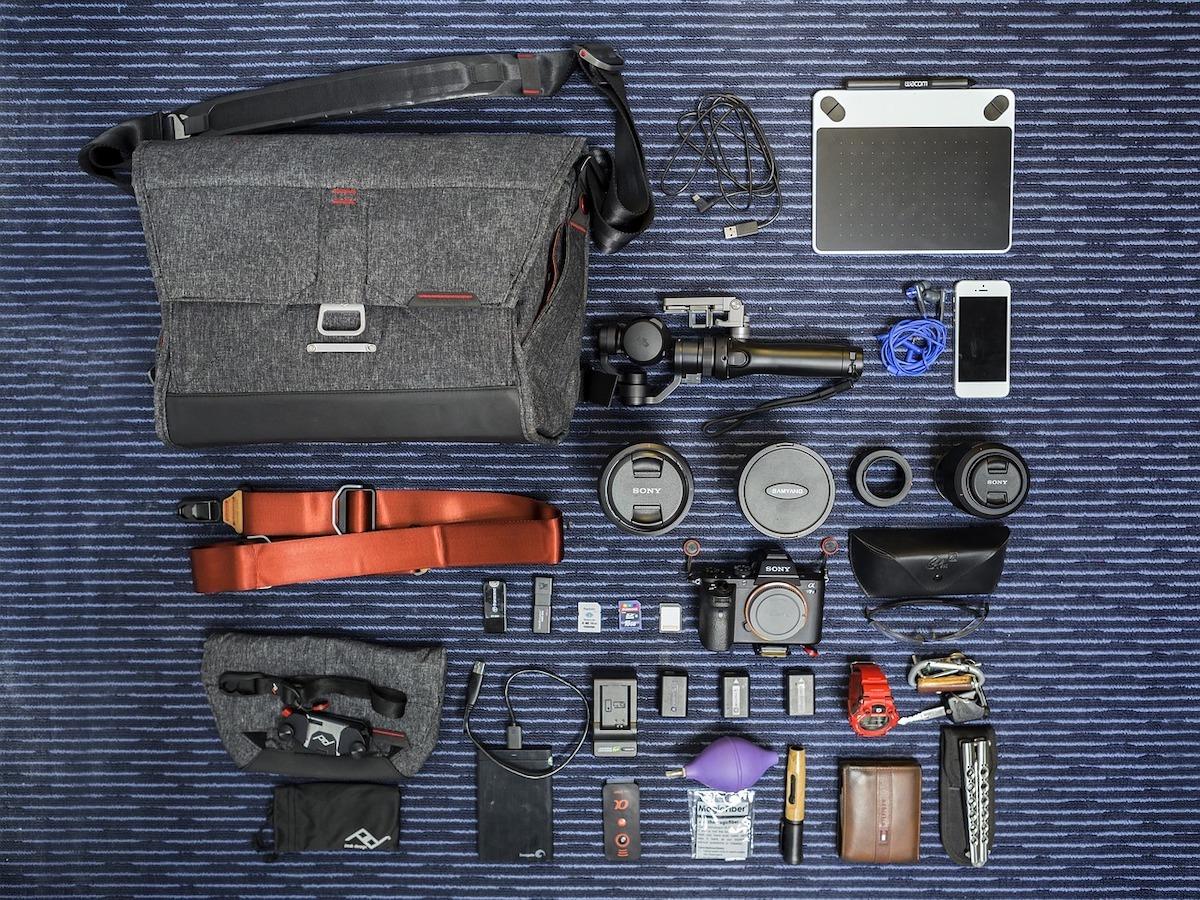 Camera inpaklijst