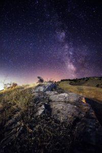 Wanneer Melkweg fotograferen