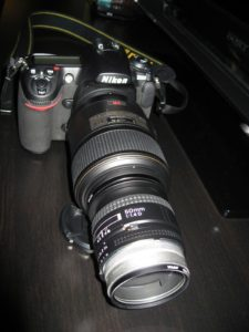 omgekeerde lens macro