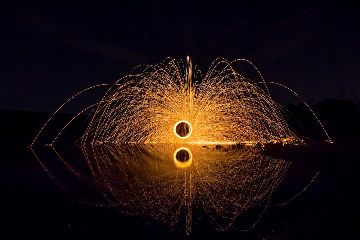 Sluitertijd vuurwerk fotograferen