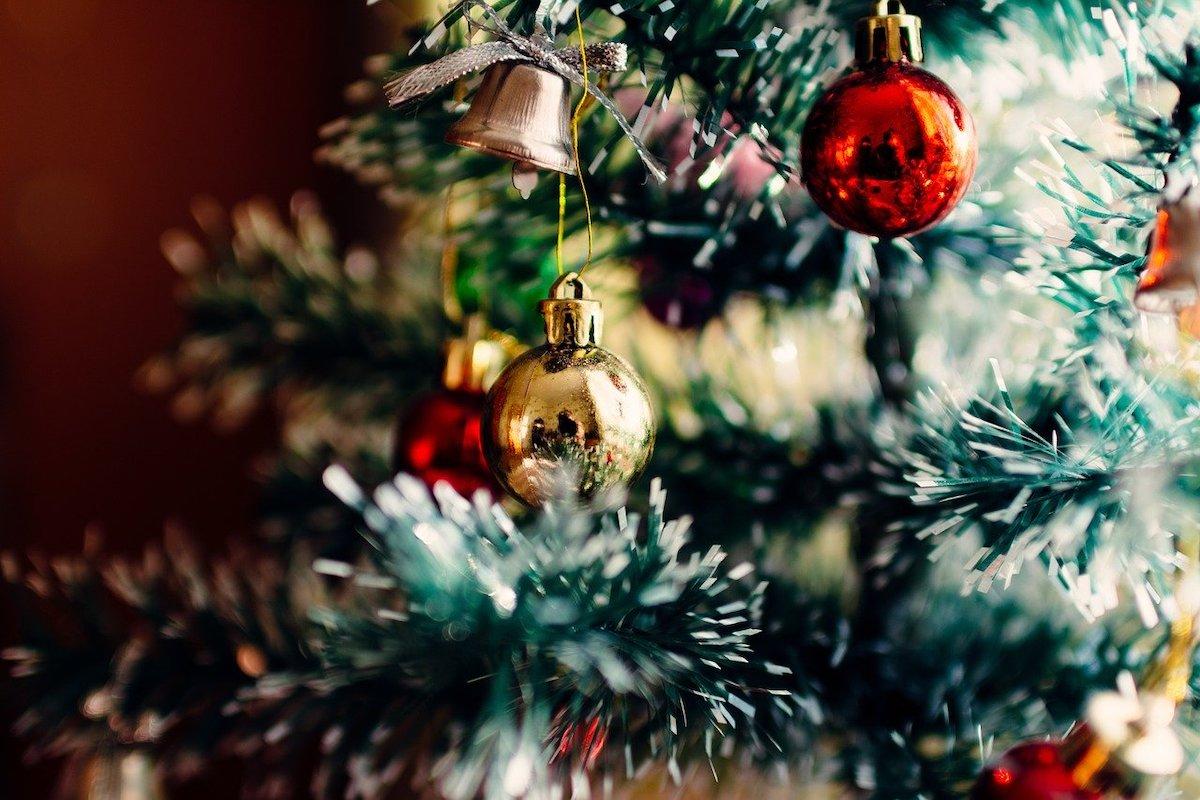 Kerstboom reflectie