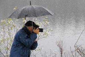 Fotograaf paraplu