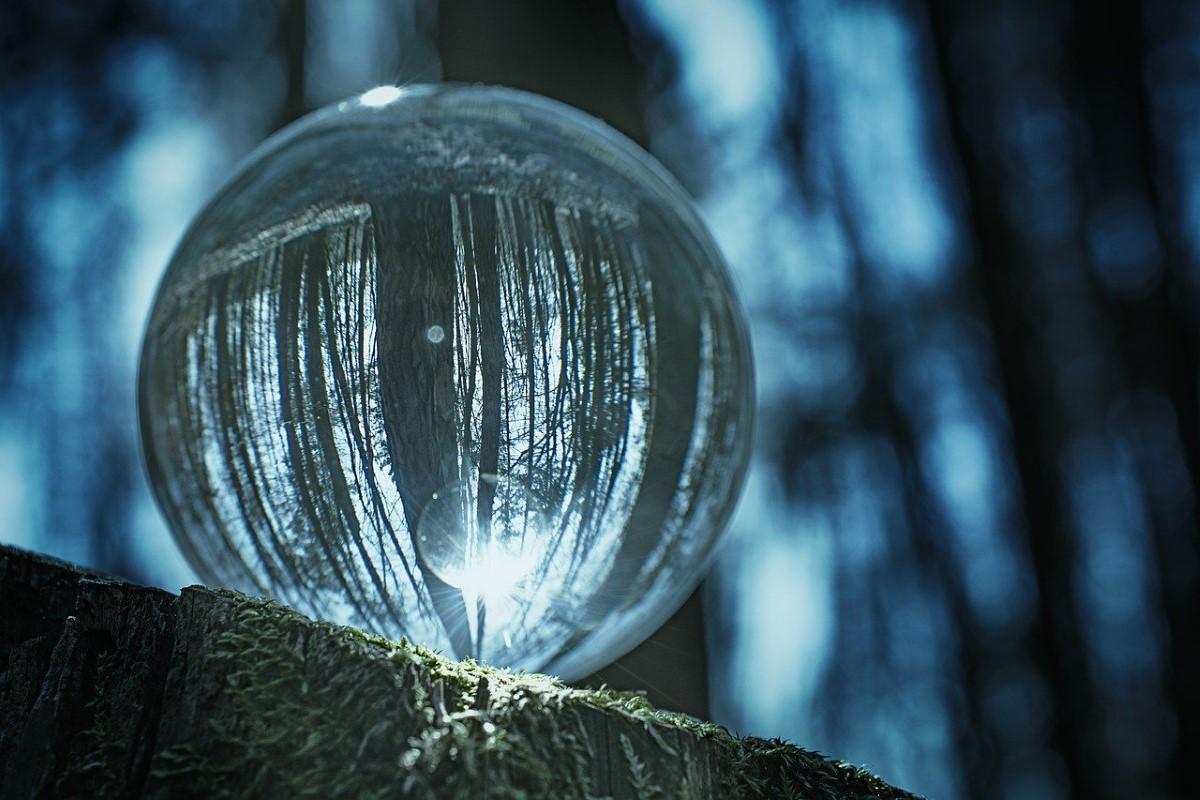 Fotograferen met glazen bol