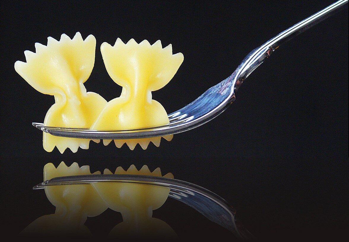 Bestek fotograferen met eten