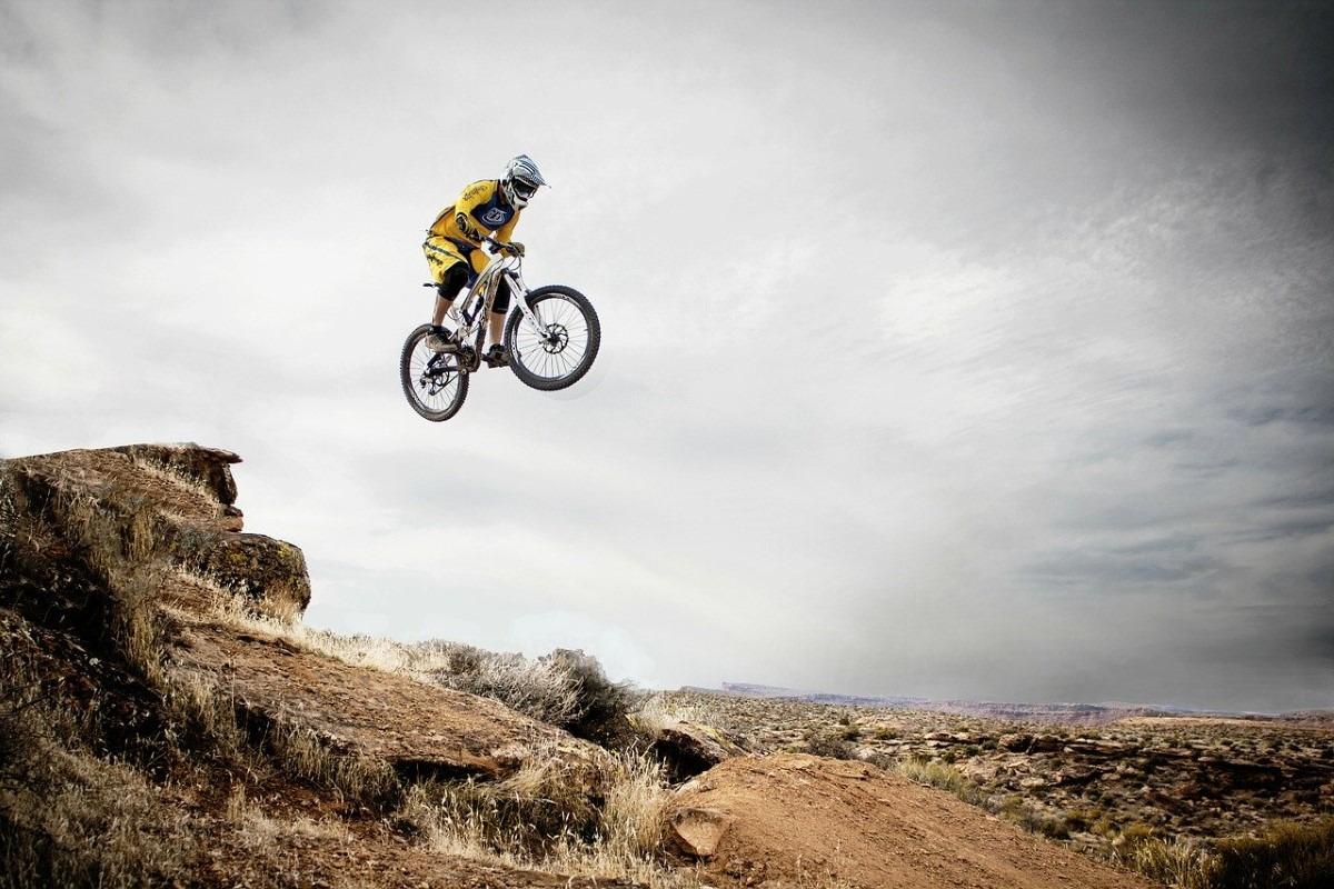 BMX springen