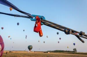 Koord luchtballon