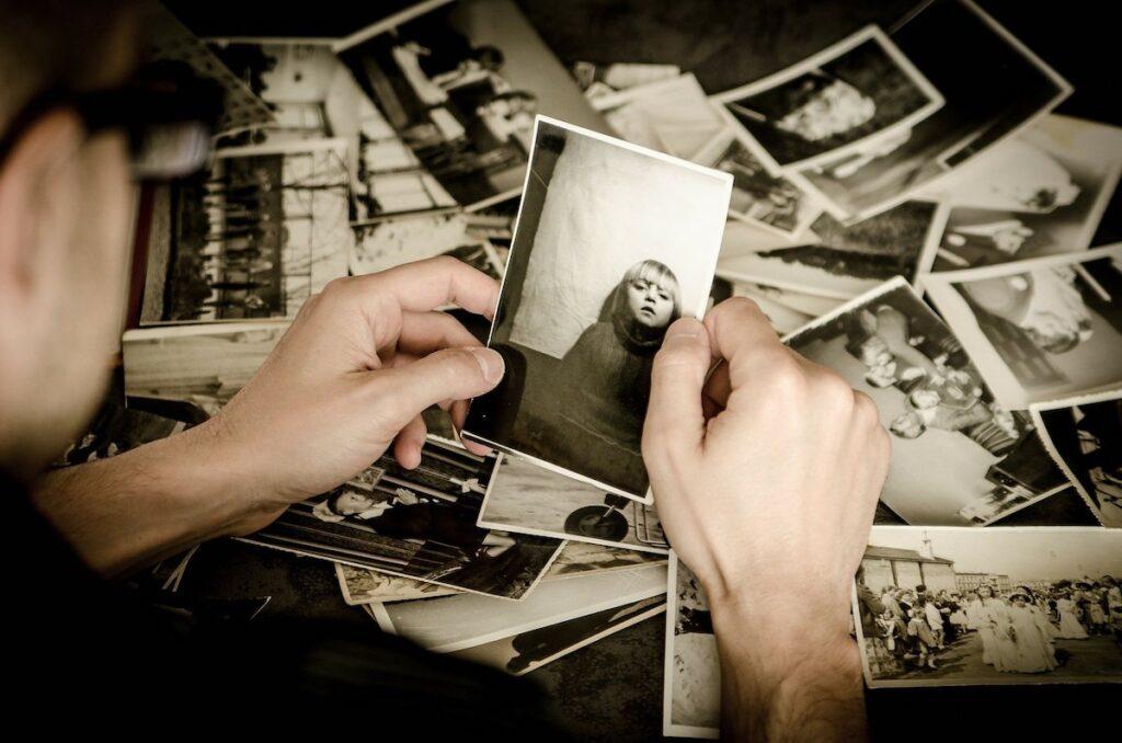 oude foto's inscannen
