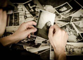 oude foto's inscanne