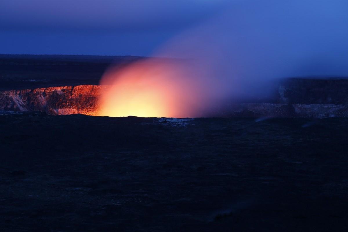 Fotograferen van een vulkaan