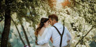 Lens voor bruidsfotografie