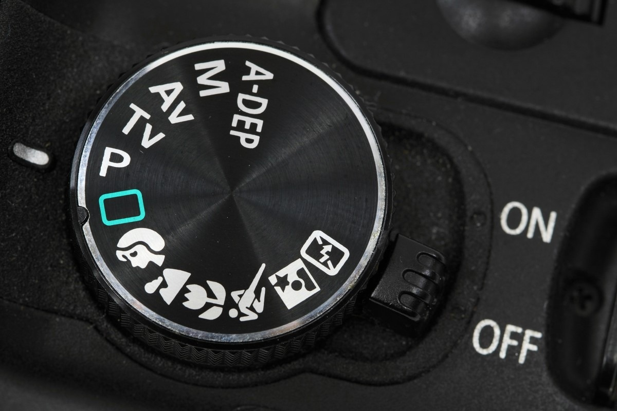 Fotograferen in P, AV, TV of M